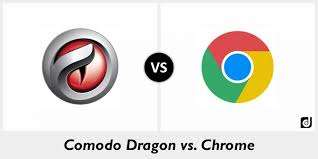 Google Chrome  vs Comodo Dragon